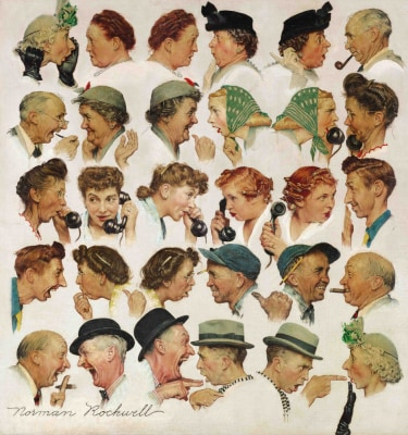 "Image: ""The Gossips"""