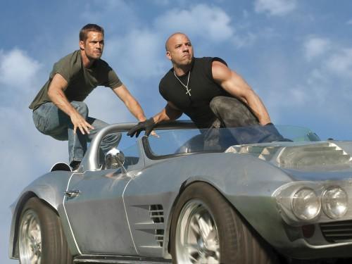 Image: Paul Walker and Vin Diesel 'Fast & Furious 5' Film - 2011   (Rex Features via AP Images)