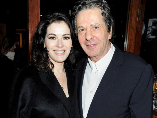 Charles Saatchi and then-wife Nigella Lawson divorced after ten years of marriage.