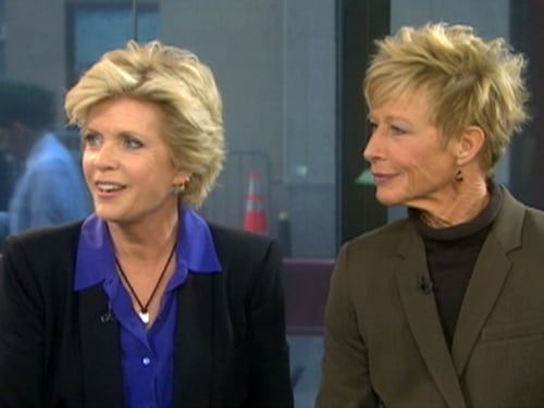 Meredith Baxter and Nancy Locke in 2009 on TODAY.