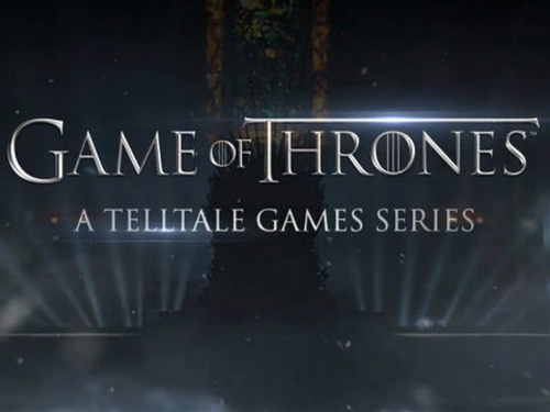 """Following an unconfirmed report last month that Telltale Games was working on a video game adaptation of """"Game of Thrones,"""" the studio confirmed a title based on the popular fantasy series over the weekend."""