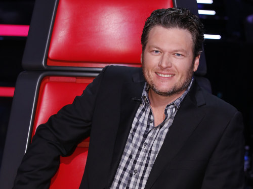 Image: Blake Shelton on The Voice.