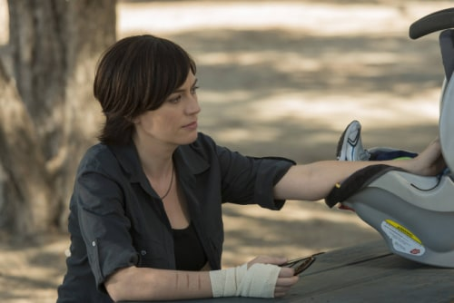 "Maggie Siff plays Tara Knowles on ""Sons of Anarchy."""