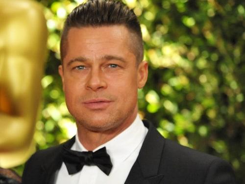 Brad Pitt in Los Angeles in November.