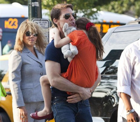 IMAGE: Tom Cruise and Suri