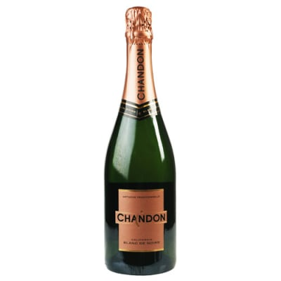 Chandon Blanc de Noirs (starting at $17) is among Cheapism.com's top picks for toasts under $20.