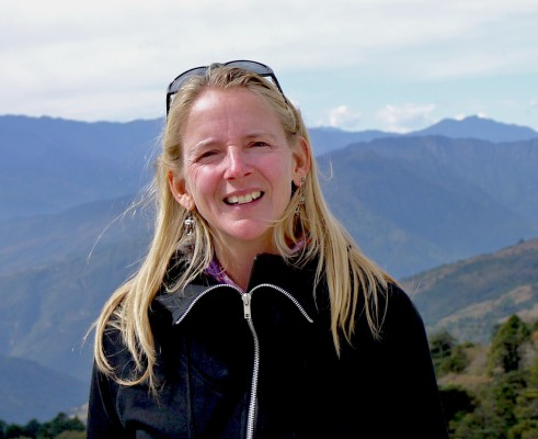 Beth Whitman in Bhutan