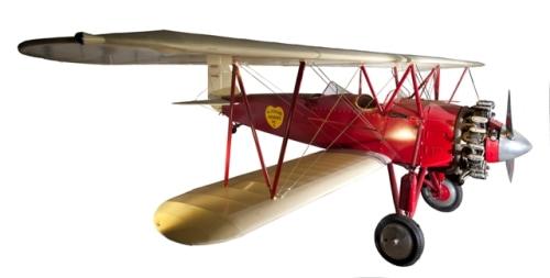 Image: Stearman C2B biplane