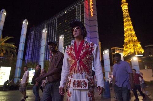 Image: Elvis on the Strip