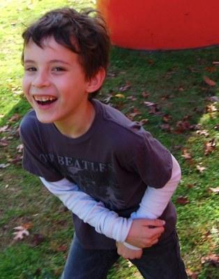 Grey Knutesen, age 7