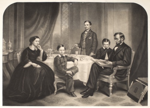 Image: Lincoln family