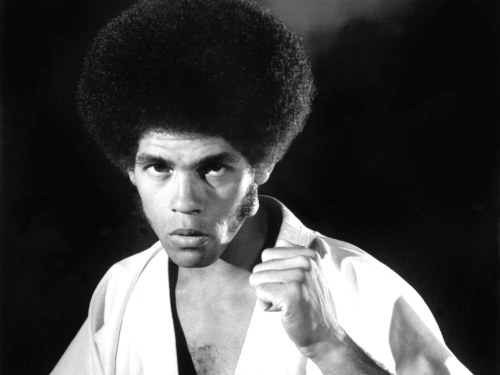 "Image: Jim Kelly in ""Enter the Dragon."""