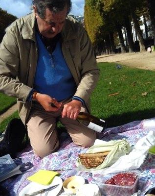 Paris Greeter hosts picnic