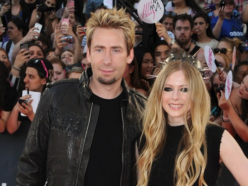 Image: Chad Kroeger and Avril Lavigne