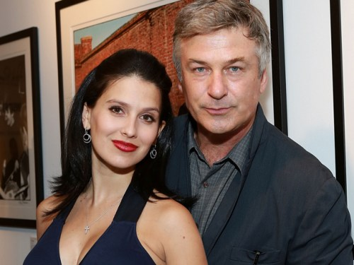 Image: Alec and Hilaria Baldwin