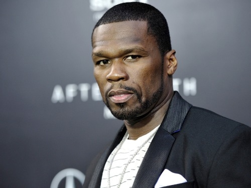 """50 Cent"" attends the ""After Earth"" premiere on May 29 in New York."