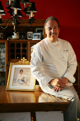 "The Royal Chef"" Darren McGrady is seen with a photograph of Princess Diana that she signed for him. He worked for the royal family for 15 years and wa..."