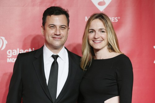 Image: Jimmy Kimmel and Molly McNearney.