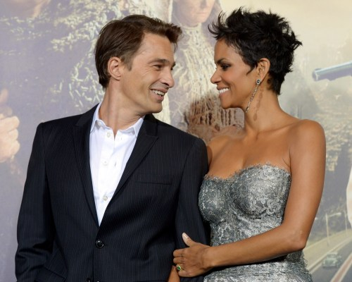Image: Halle Berry and Olivier Martinez.