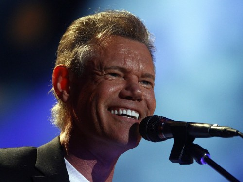 Randy Travis at the CMA Music festival in June.