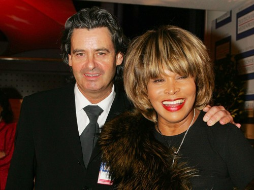 Erwin Bach and Tina Turner in 2005.