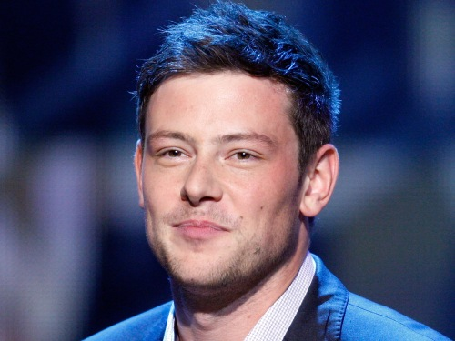 """Glee"" star Cory Monteith attends the 2012 NHL Awards in Las Vegas."
