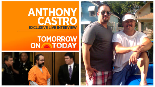 Anthony Castro will appear Monday on TODAY.