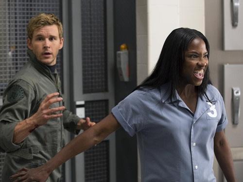 Image: Tara tries to protect Jason at Vamp Camp.
