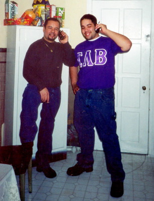 Ariel Castro (left), and his son Anthony.
