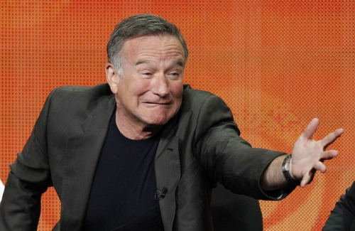 "Robin Williams returns to TV in the CBS comedy ""The Crazy Ones."""