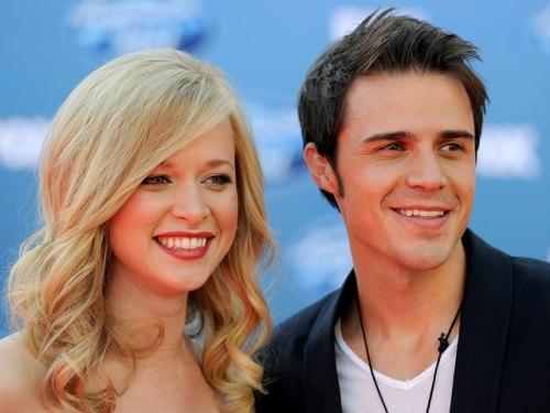 Katy Allen and Kris Allen in 2011.