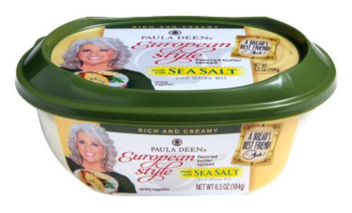 Paula Deen's European style butter.