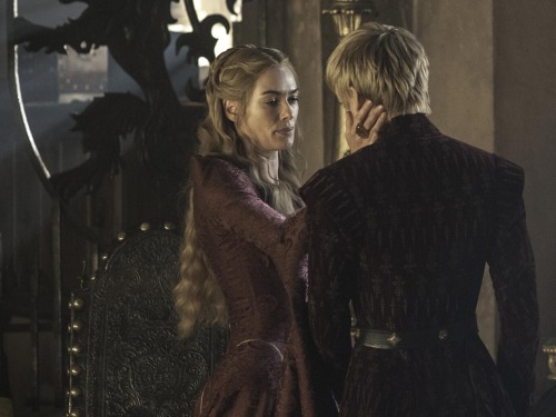 Image: Cersei and Joffrey