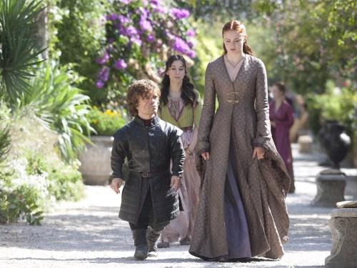 Image: Tyrion, Sansa