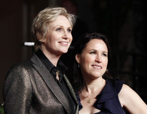 Image: Jane Lynch, Lara Embry