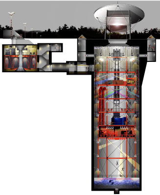 For Sale Decommissioned Missile Silo 40 Feet Underground