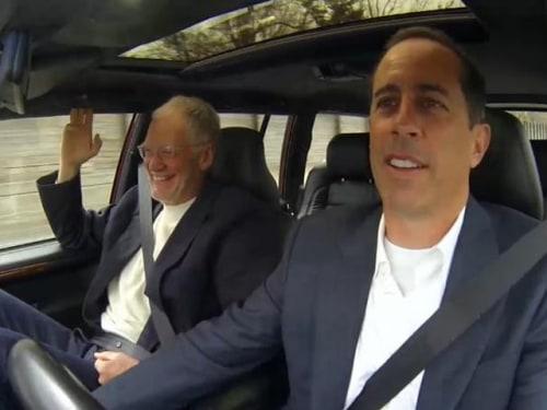 Image: Jerry Seinfeld, David Letterman