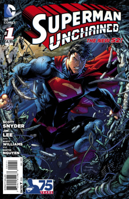 """'Superman Unchained"" cover"