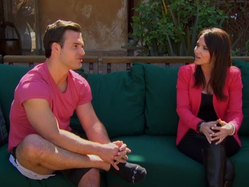 """Stephanie confronted Brian on """"The Bachelorette"""" Monday."""