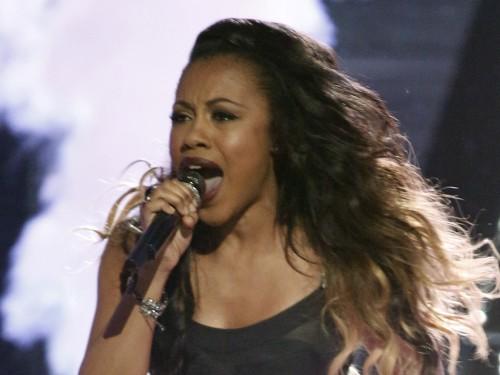 "Image: Sasha Allen from ""The Voice"""