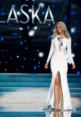 Melissa McKinney had fought off malaria five times by the time she was crowned Miss Alaska 2013. She will compete for the Miss USA title on June 16.