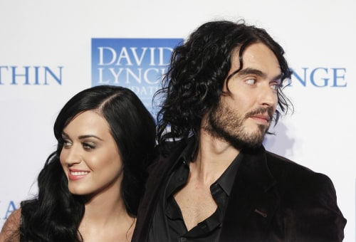 Image: Katy Perry, Russell Brand
