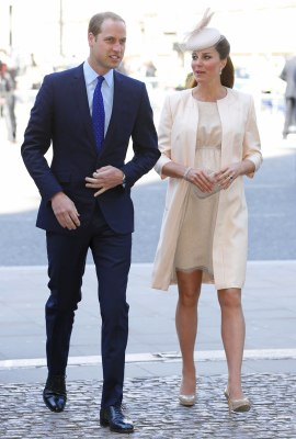 Soon-to-be parents, the Duke and Duchess of Cambridge.
