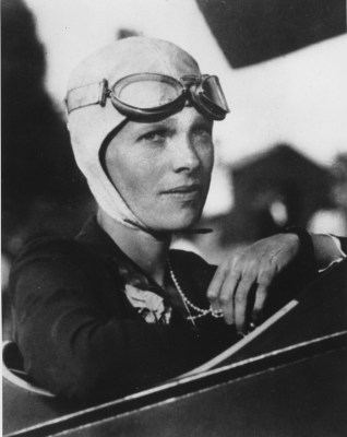 FILE - This undated file photo shows Amelia Earhart. Three bone fragments found on a South Pacific island could help prove that Earhart died as a cast...