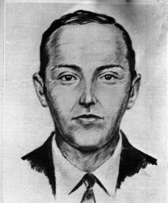 This is an artist's sketch of the skyjacker known as 'Dan Cooper' and 'D.B. Cooper', from the recollections of passengers and crew of a Northwest Orie...