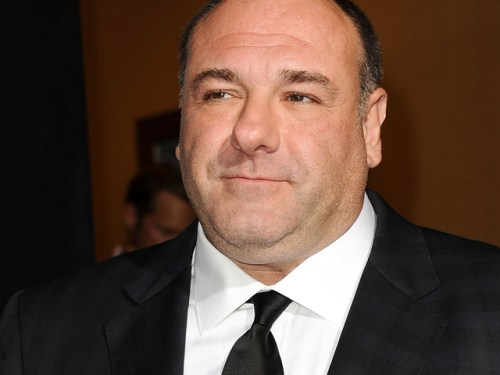 "James Gandolfini attends premiere of ""Zero Dark Thirty"" in 2012."