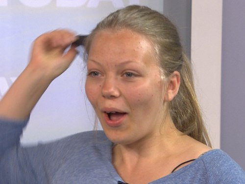Rudemo's daughter is stunned by her mother's makeover.