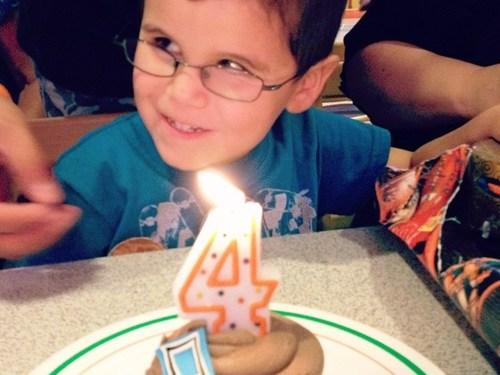 Gavin Stevens, on his 4th birthday