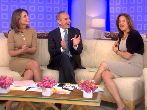TODAY's Jenna Wolfe was thrilled to share her big news to her co-anchors Matt Lauer and Savannah Guthrie.