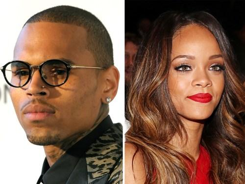 Chris Brown, Rihanna.